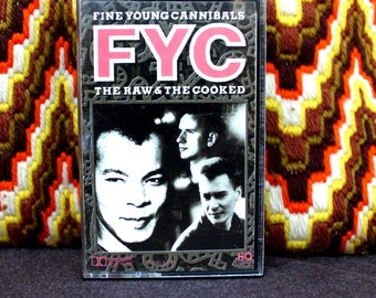 Fine Young Cannibals - The Raw and The Cooked - Cassette Tape 1988