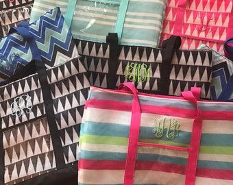 Monogrammed Beach Bag, Tote Bag