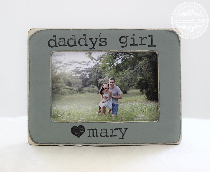 Dad Frame Gift from Daughter Father Daughter Personalized Picture ...