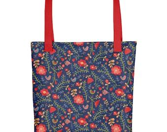 Rose Tree Flower Tote bag | Bag | Studio Carrie | Gift