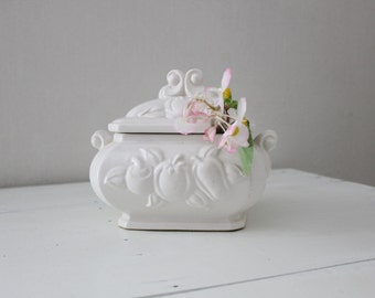 Small White Tureen