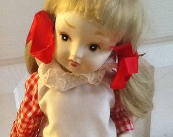 All Porcelain Vintage Kelvin doll
