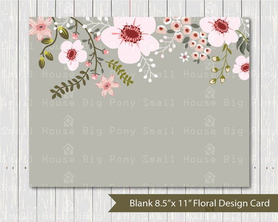 """Flower, wedding, digital card, wedding flowers card, flower bouquet card, graphic design, digital card- 8.5"""" x 11"""" card"""