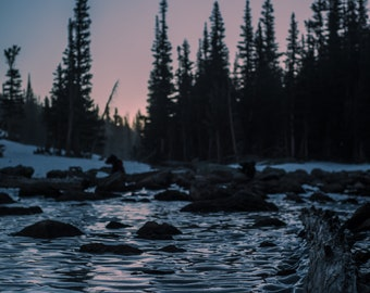 Frozen Dream Lake - Rocky Mountain National Park - CO