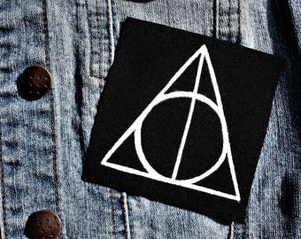 Deathly hallows (Deathly Hallows) patch / / Harry Potter