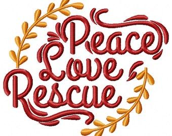 Machine Embroidery Design - Rescue Dogs #04
