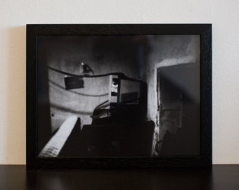 Lightsick II - handmade photographic silver gelatin print - analogue photography