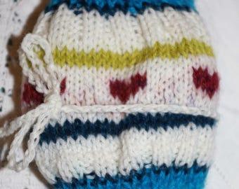 Merino,cashmere and alpaca headband