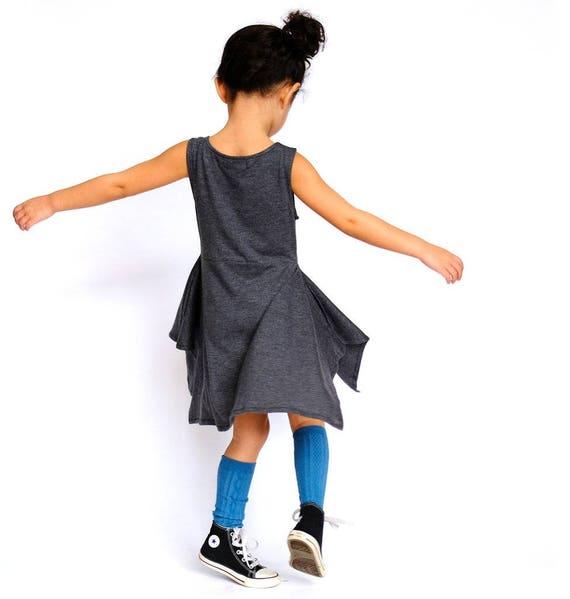 90b83375d36 Handkerchief Dress Toddler Girls Kids Bamboo Rayon Cotton