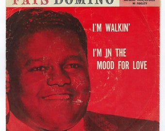 Fats Domino - I'm Walkin' / I'm In The Mood For Love - 45rpm - 1957