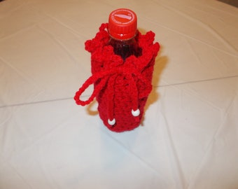 Cozies for water and soda bottles