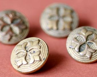 Gilt Brass Button