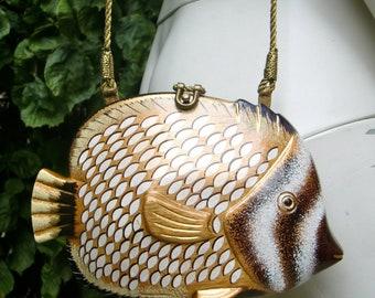 TIMMY WOODS 1990 Fish Minaudiere