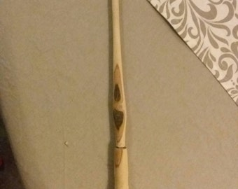 Magical wand willow with bark