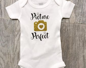 Picture Perfect Baby Onesie