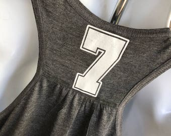ADD SMALL number or name to front or back