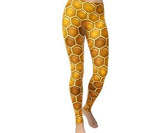 Honey Bees Animal Leggings