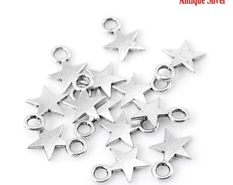 10 pendants charm star no. 1