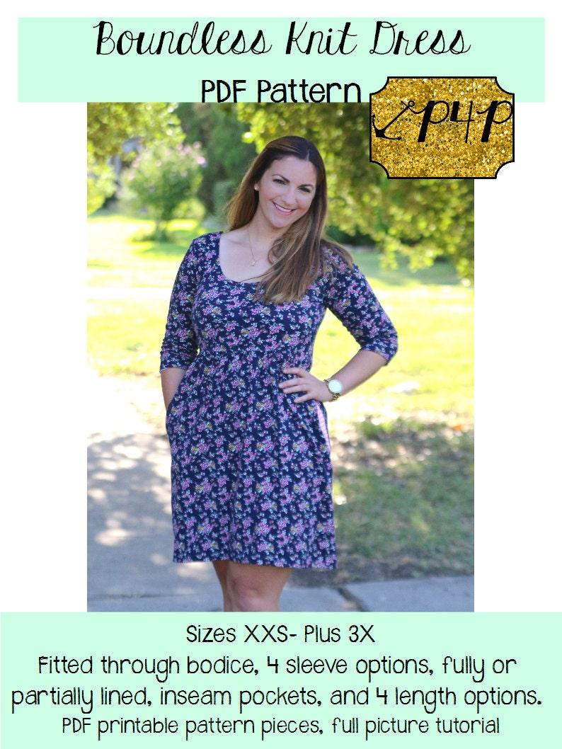 Plus size tank dress pattern