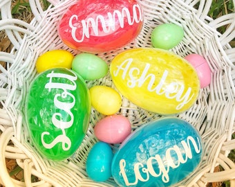Easter Egg, Easter Basket Stuffers, Personalized Easter Egg, Big Easter Egg, Easter Gifts For Kids, Easter Bunny Gift