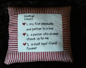 Brother pillow