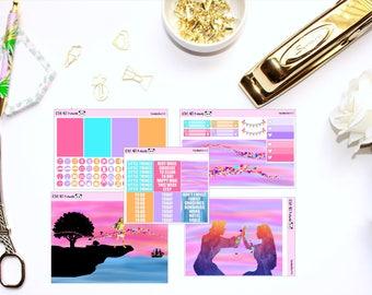 Pocahontas Mini Kit // Planner Stickers for Erin Condren, Happy Planner, Kikki K, Filofax (150+ Stickers!)