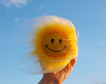 Smile toy, Happy face toy, Smiley face toy, Smiling face toy, Sun plush toy, smiley face sunflower, happy face sunflower, stuffed toy, small