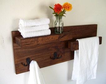 More Colors. Bathroom Shelves Towel ...