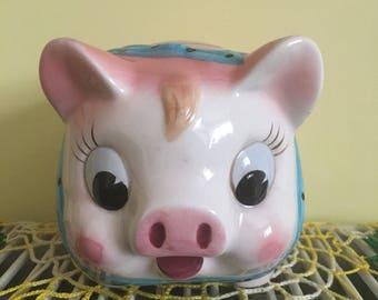 Vintage Japanese Pig Money Bank