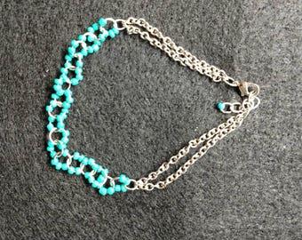 Turquoise Wavy Bracelet
