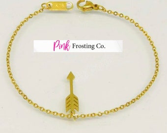 Boho Arrow Bracelet - 18 K Gold Plated