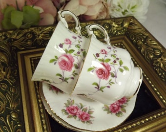 2 Coffee Cups and Saucers , Vintage Paragon & Royal Standard