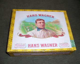 Pirates Honus Wagner Cigar Box Baseball Stadium