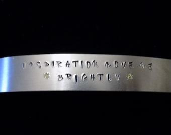 Inspiration Move Me Brightly~ Grateful Dead Inspired Cuff