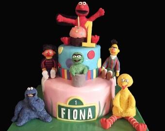 Custom Edible Cake Topper Set