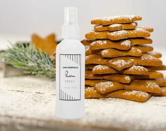 Gingerbread Scented Room Spray, Air Freshener, Air Freshener, Vegan Air Freshener, Room Spray, Car Spray, Gingerbread Scent, Christmas Scent