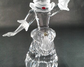 SWAROVSKI Masquerade Columbine Crystal Figurine