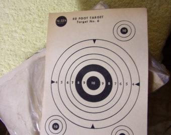 Vintage Sears & Roebuck #6 50' Paper Targets