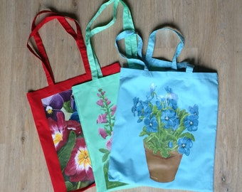 Bag - designed from the paintings by Cassie Butcher