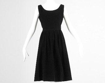 Medium 1960s Jumper Dress Black Corduroy Dress Sleeveless Dress Summer Dress Casual Jumper Corduroy Jumper Casual Dress Medium