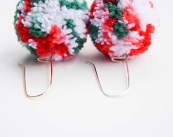 Festive Pom Earrings