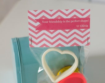 Instant Download Printable Valentine Treat bag toppers for Modeling  Fun Dough
