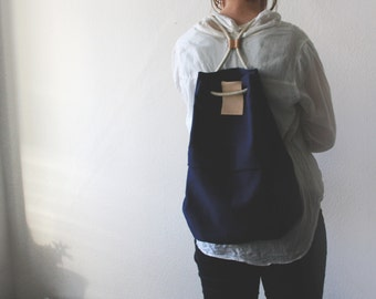 Drawstring backpack FANT/blue
