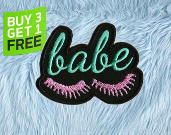 Babe Patch Iron On Embroidered Patches Iron On