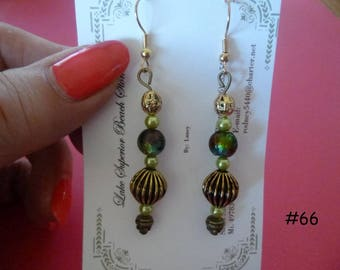 Clearance Sale: Dangle Earrings of all Different Types, Five Different Pairs on Each Listing, E66-70