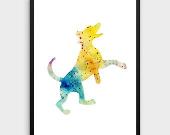 Labrador Retriever Art | Labrador Retriever Print, Watercolor Labrador Retriever, Labrador Retriever Painting, Labrador Retriever Poster