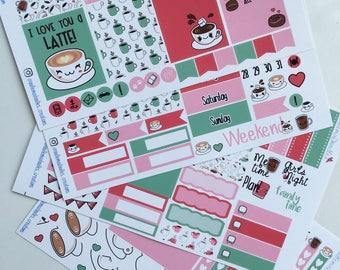 Coffee Love Mini Sticker Kit
