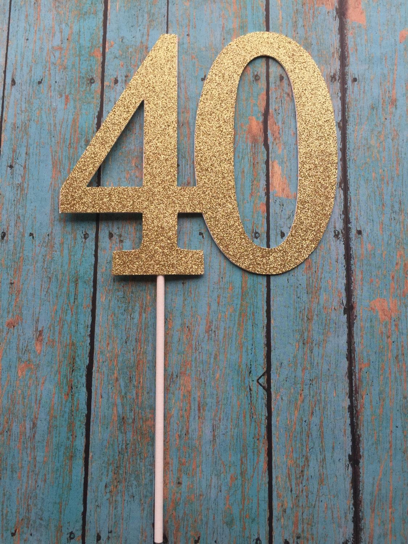 40th birthday cake topper 40th cake topper 40 birthday cake zoom biocorpaavc