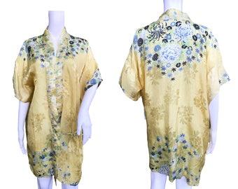 1930s Printed Kimono Robe