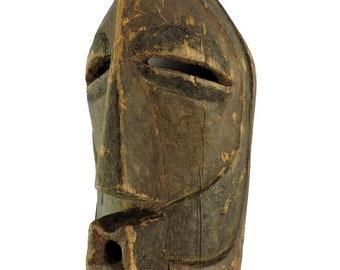 Songye Mask Kifwebe Congo African Art 13 Inch 112816